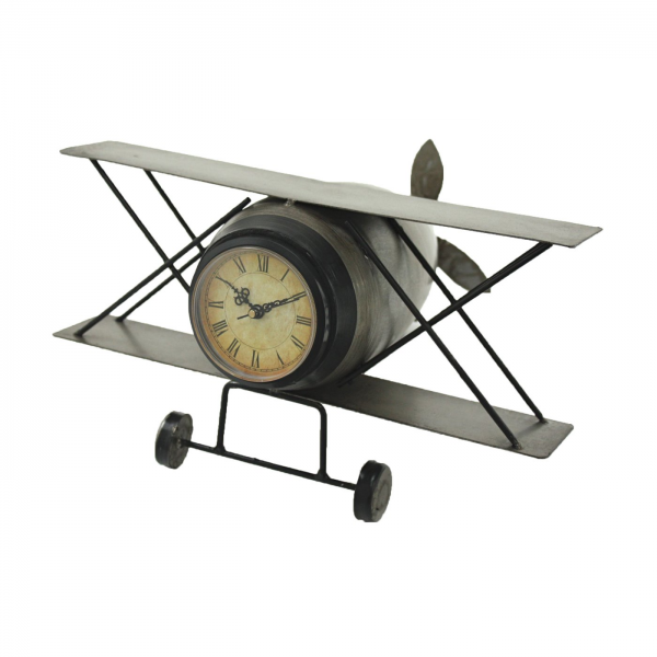 Aspire Home Accents 6496 Airplane Table Clock | ATG Stores
