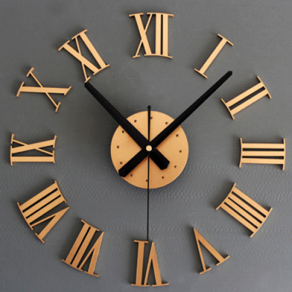 New-Unique-Design-DIY-3D-Wall-Stickers-Wall-Clocks-Modern-Home ...
