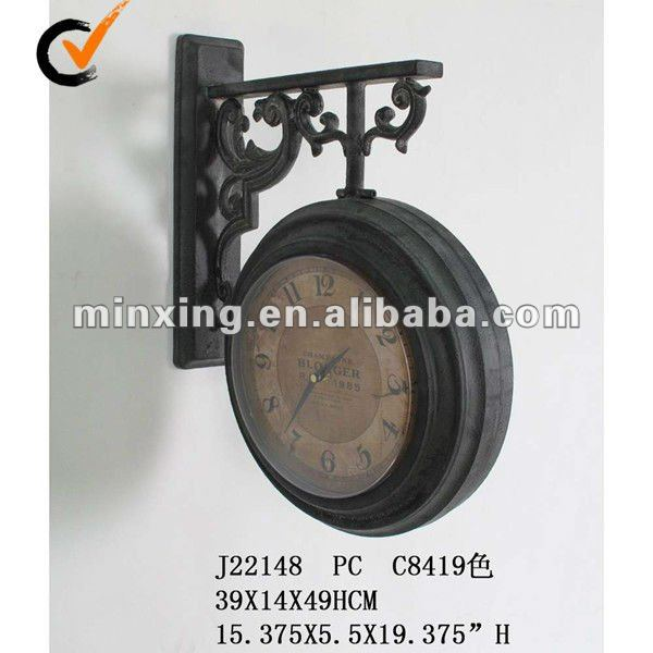 ... > Clock > Wall clock > high quality antique metal clock wall