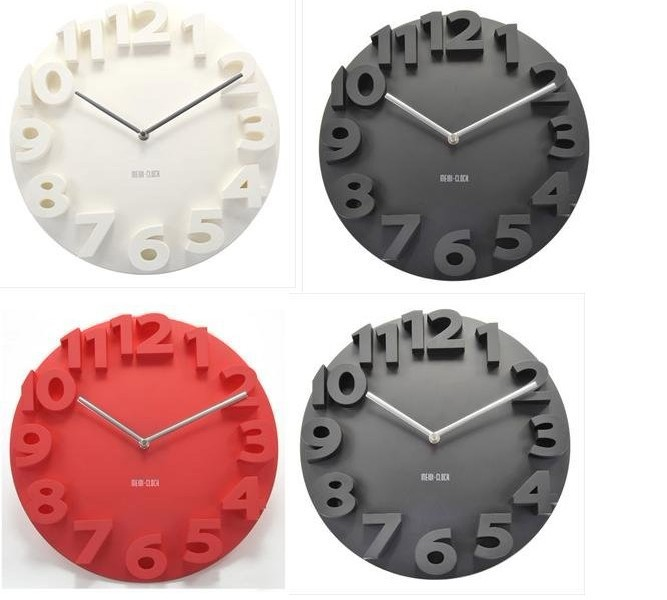 3D wall clock/High quality wall clock/Wholesale&Retail-in Wall Clocks ...