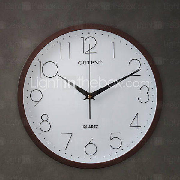 12H Modern Style High Quality Wall Clock - USD $ 39.99
