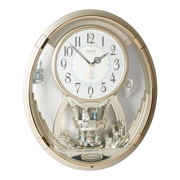... Japanese Rhythm Magic Motion Musical Small World Wall Clock / Clocks