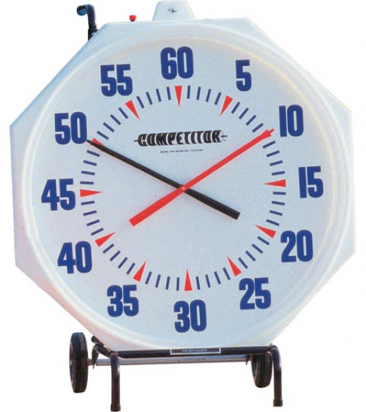 Wall Mount 31 Inch Pace Clock Electric Model (110V Motor)