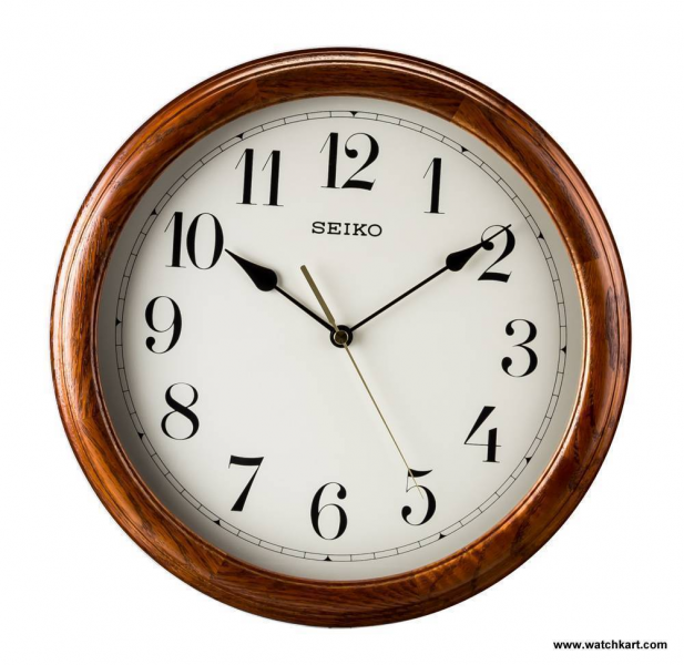 Seiko QXA153BN Wall Clock at Best Price | WatchKart.com @ Rs.3500