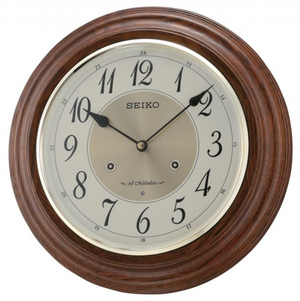 Clockway: Seiko Verona Wall Clock - GSK4632