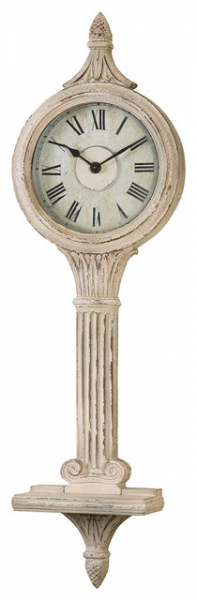 Uttermost Louisa Antiqued Ivory Wall Clocks 06427 traditional-wall ...