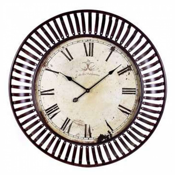 IMAX Banded Metal Wall Clock - 1718