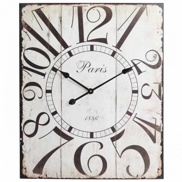 Redding Rectangular Wall Clock at Brookstone—Buy Now!