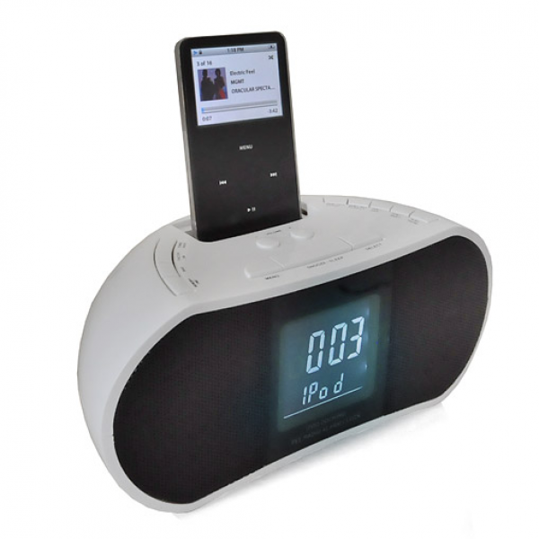 Denver CRI-820 iPod Docking Station FM Radio Alarm Clock at the Best ...