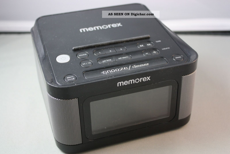 Memorex Android Iphone Dual Usb Charging Port Alarm Clock Fm Stereo ...