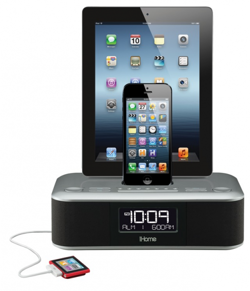 iHome's Lightning Alarm Clock Will Charge Everything. Everything! [CES ...