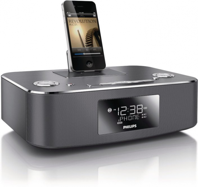 Philips iPhone/iPad Speaker docks: $45 for 30-pin alarm clock, $80 for ...