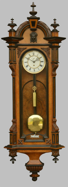 Antiques Atlas - Single Weight Vienna Wall Clock