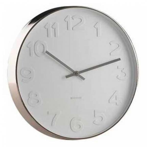 Karlsson Mr White Numbers XL - Wall Clock | hardtofind.