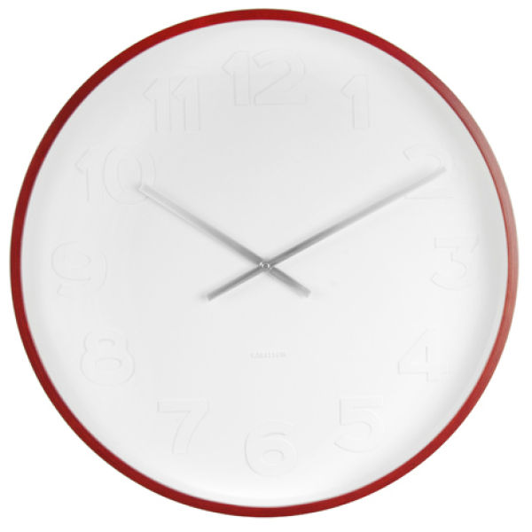 Karlsson Wall Clock - Mr. White | IWOOT