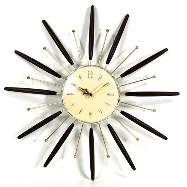 Starburst Clock - OMG, I have this clock in my family room right now ...