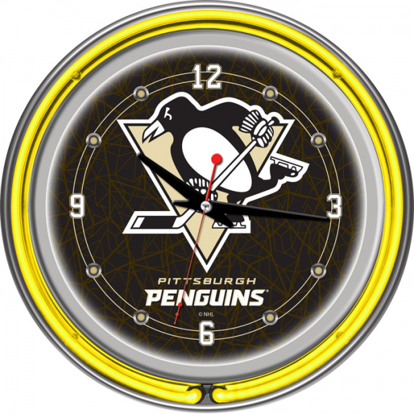 home furniture clocks neon clocks nhl hockey
