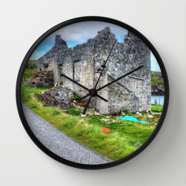 Rodel, Isle of Harris Wall Clock