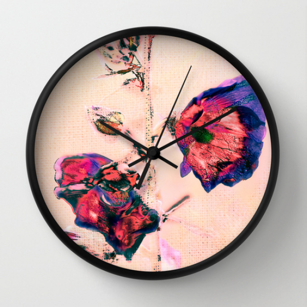 Mallow. Wall Clock
