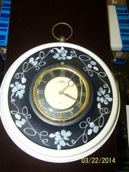 Harris Mallow Clock | eBay