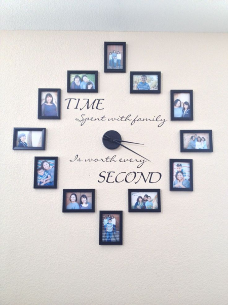 Family wall clock | Home | Pinterest