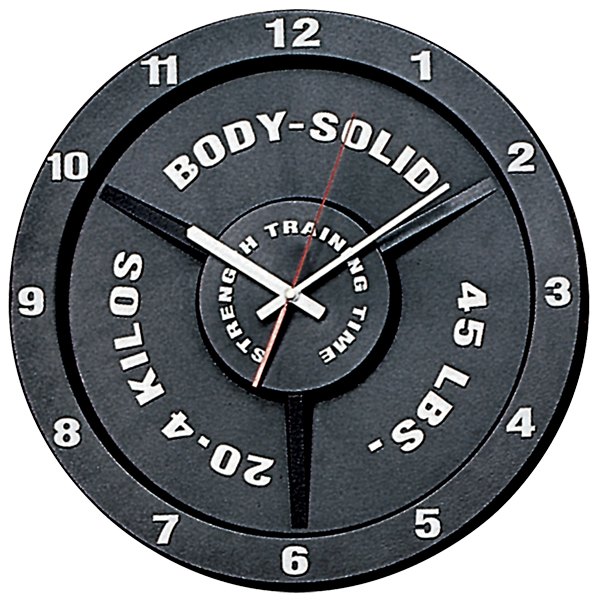 ... Training Gym Time Bodybuilding Weightlifting Wall Clock | eBay
