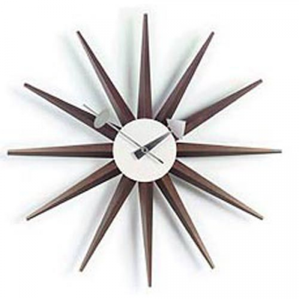 George Nelson Sunburst Clock | Interior Decor and Design | Pinterest