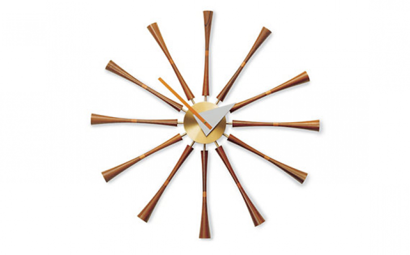 Nelson Spindle Clock - Clocks - Accessories - Categories - Design ...