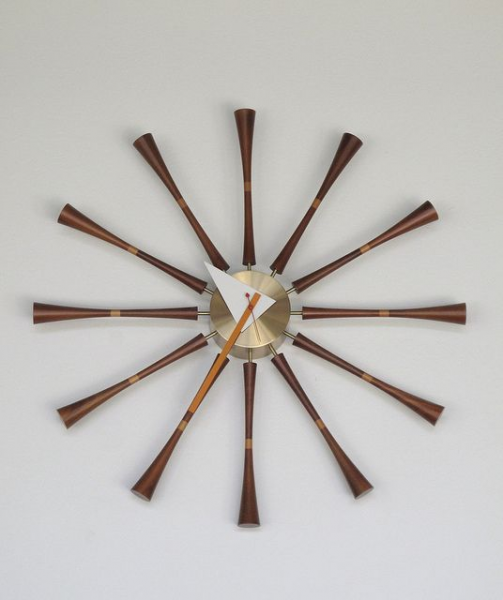 Nelson Spindle Clock | MID CENTURY MODERN | Pinterest