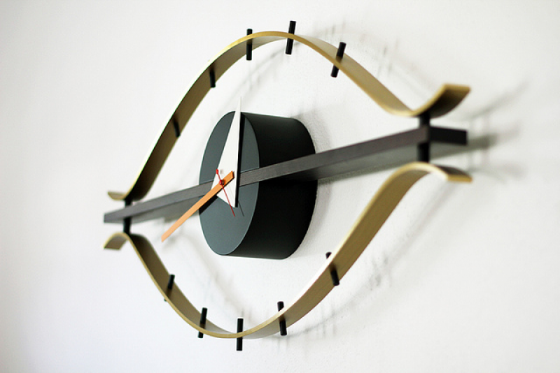 eye clock :: george nelson | Flickr - Photo Sharing!