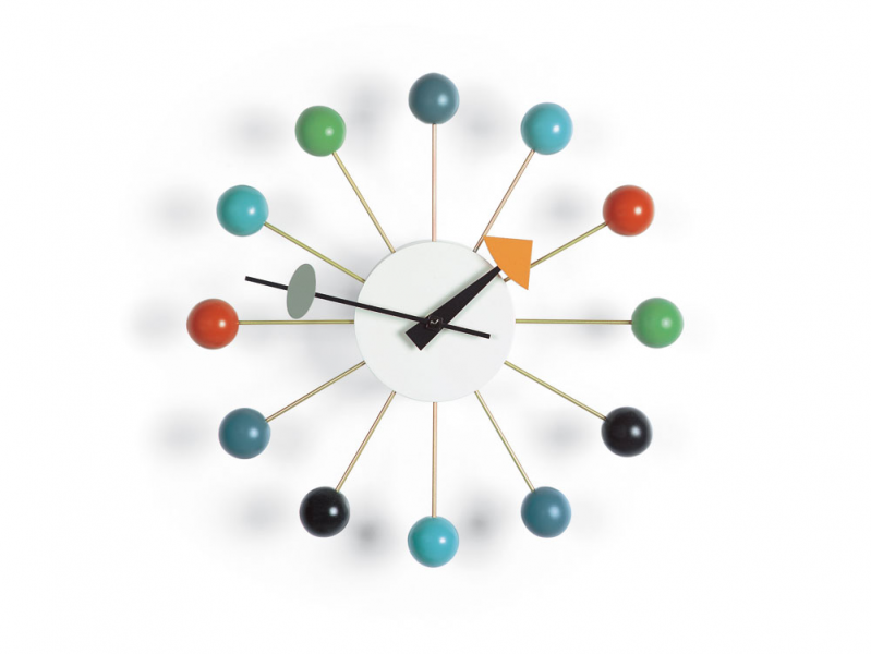 Vitra - George Nelson - Ball Clock - George Nelson - Atomic Interiors