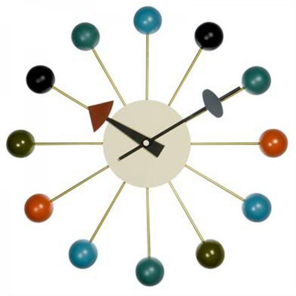 George Nelson Ball Clock - Modern Classic Replica - Replica Furniture ...