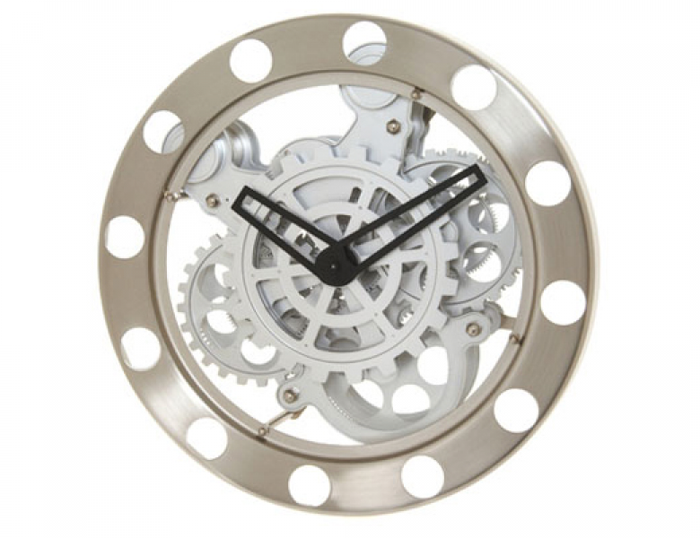 Kikkerland Design Inc » Products » Wall Clock + Gears
