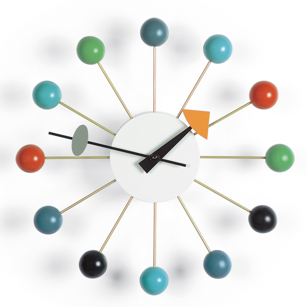 januarsalg vitra ball clock av george nelson multi vitra ball clock ...