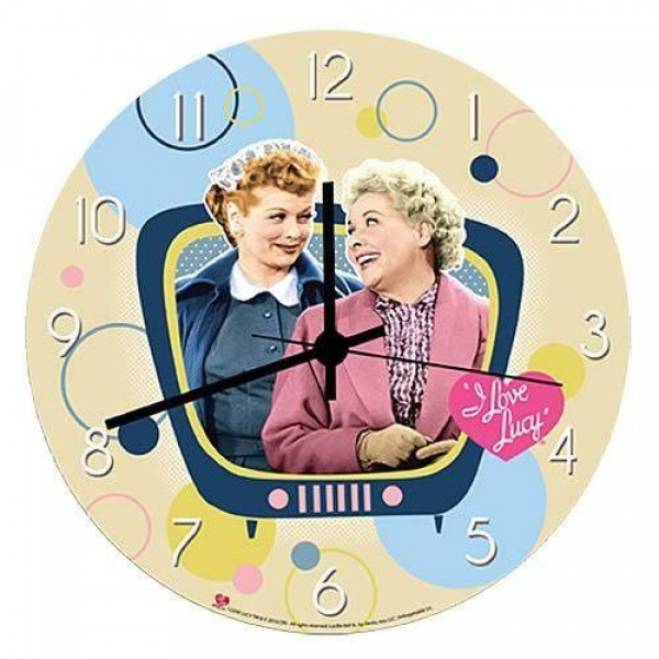 Love Lucy Wall Clock | LUCY STUFF | Pinterest