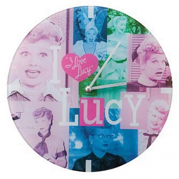 Love Lucy Glass Wall Clock - Vandor - I Love Lucy - Clocks at ...