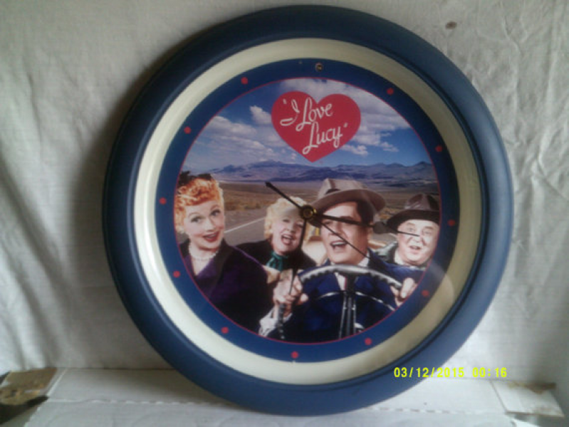 Love Lucy Wall Clock by SukeenasCrafts on Etsy
