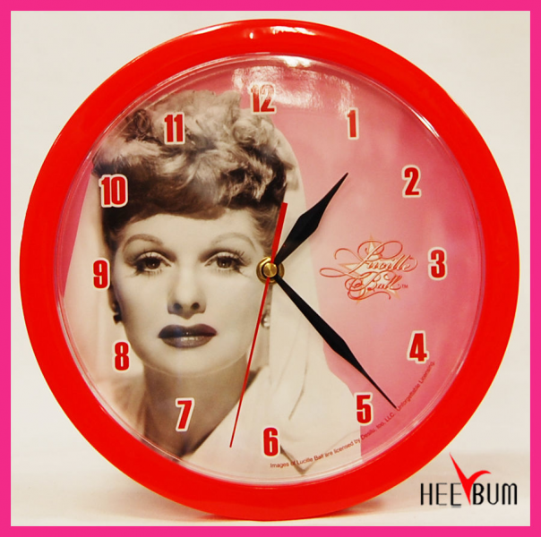 Love Lucy Round Wall Clock Gift Decor Collector Watch | eBay