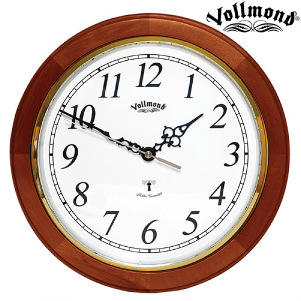 Vollmond Cherry 11 Inch Atomic Wall Clock Model# YW120