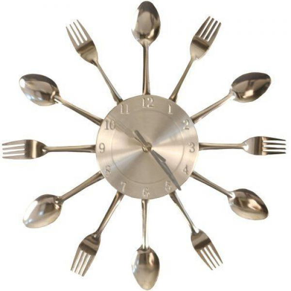 LexMod Fork and Spoon Dining Wall Clock by LexMod, http://www.amazon ...