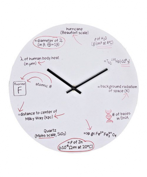 Take a look at this Science Quiz Wall Clock on zulily today!