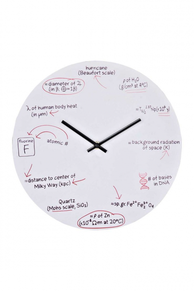 Science Quiz Wall Clock - White on HauteLook