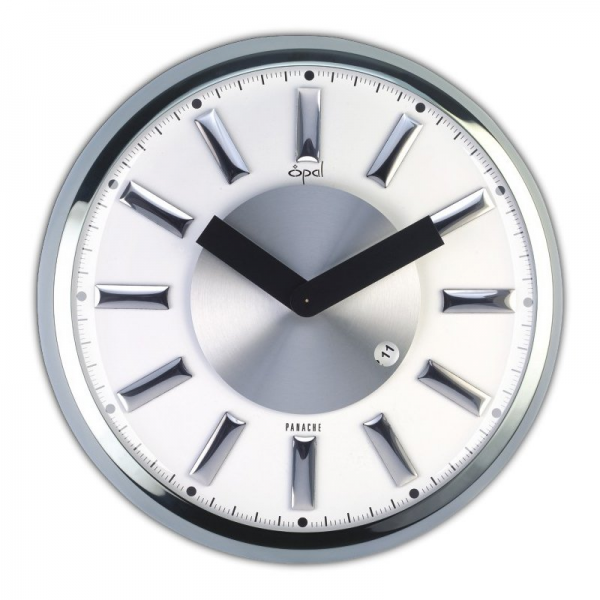 ... Wall Clocks > Modern Wall Clocks > Opal Luxury Products 5634 Stainless