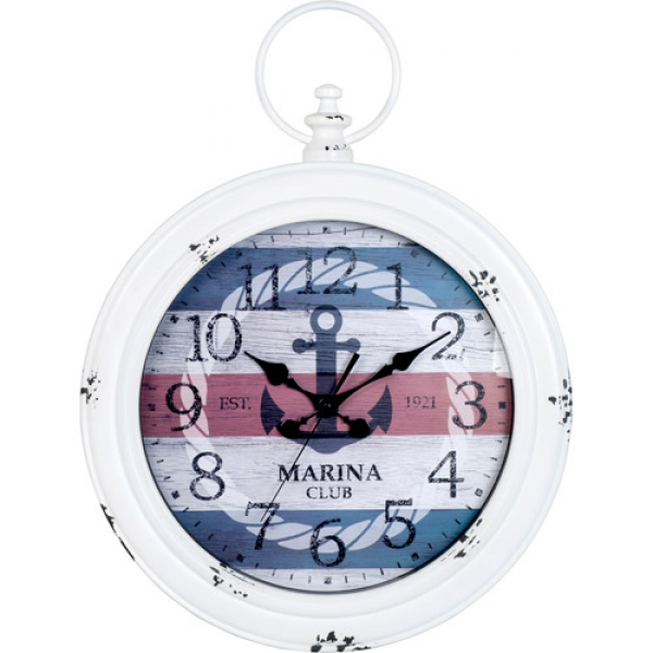 Better Homes and Gardens Ship Pocket Watch Clock - Walmart.com