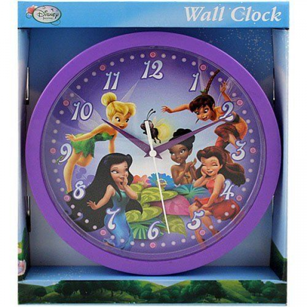 Disney Fairies Tinkerbell Plastic Wall Clock by Disney, The perfect ...