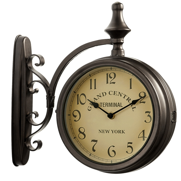 Grand Central Terminal Bracket Indoor & Outdoor Garden Clock 32cm / 13 ...