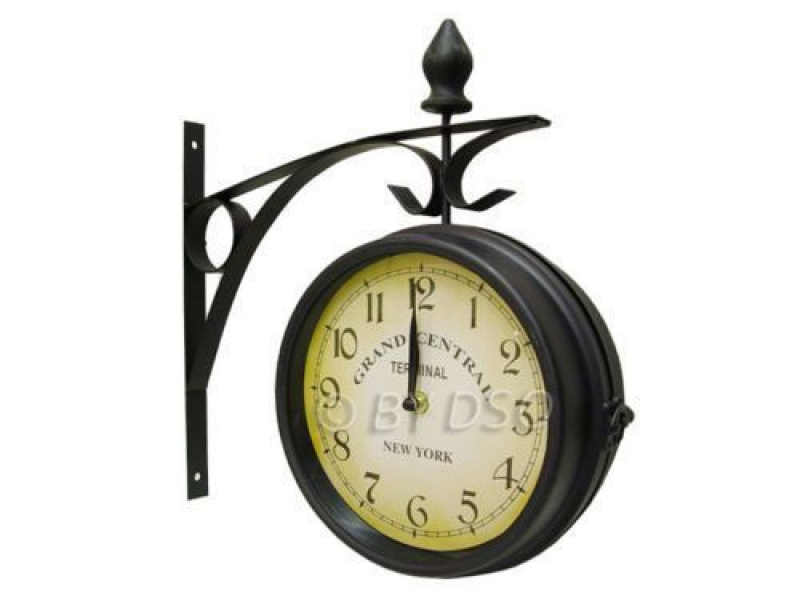 ... New York Grand Central Railway Train Station Wall Clock Brackets