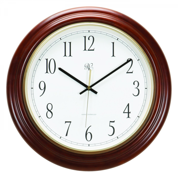 River City Clocks 801-401 Radio-Controlled Post Office Wall Clock ...
