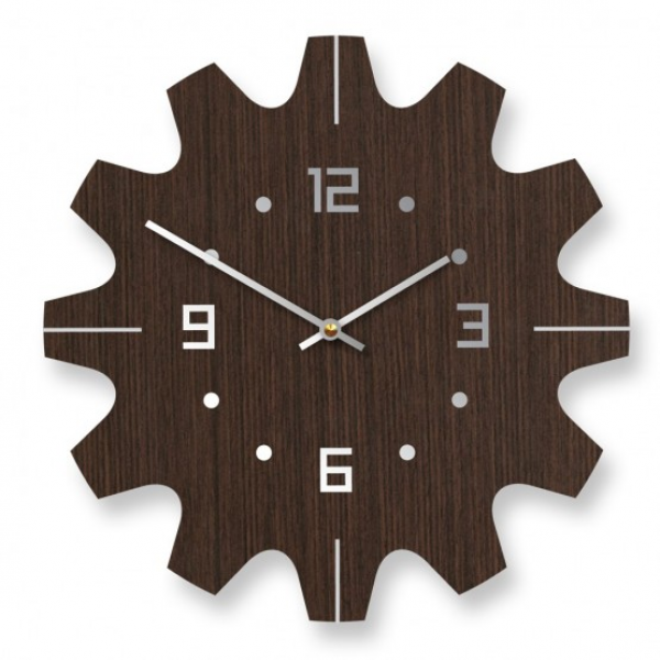 ... modern wall clock 2 Unique Wooden Wall Clocks With Modern Design
