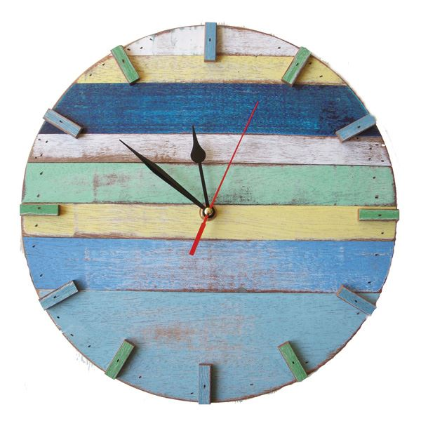 ... Wood Wall Clock (491561788), Decorative Wall Clocks & Reclaimed Wood